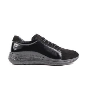 Pantofi dama JSCARPE 3075NL Negru Lac