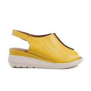 Sandale dama JSCARPE 651G Galben