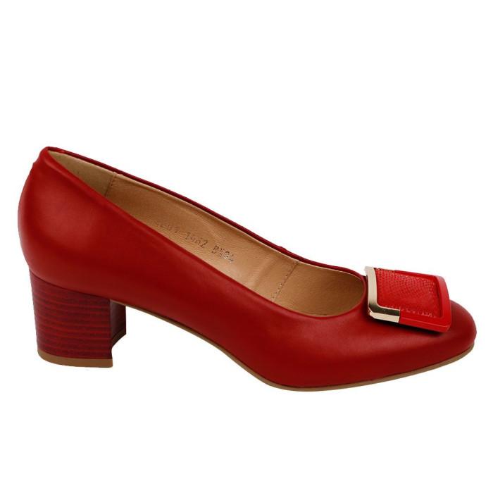 Pantofi dama Kordel 1462 Rosu