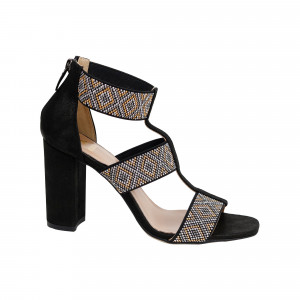 Sandale dama Kordel 1479 Negru