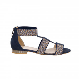 Sandale dama Kordel 1669 Albastru