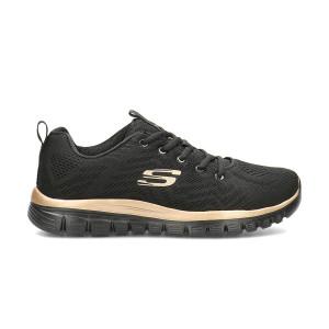 Pantofi sport dama Skechers 12615 Negri