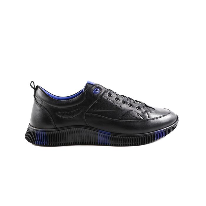 Pantofi barbati Gitanos 9402 Negru cu Albastru