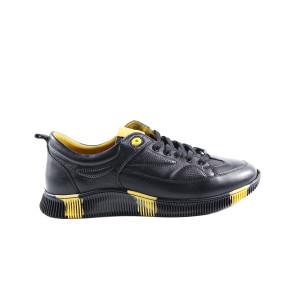 Pantofi barbati Gitanos 9402 Negru cu Galben