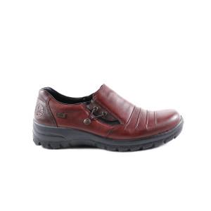 Pantofi dama Rieker L7154-30 Bordo