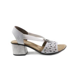 Sandale dama Rieker 64677-80 Albe
