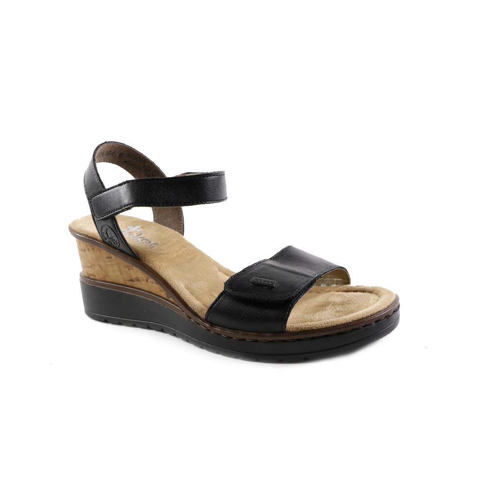 Sandale dama Rieker V3554-00 Negre