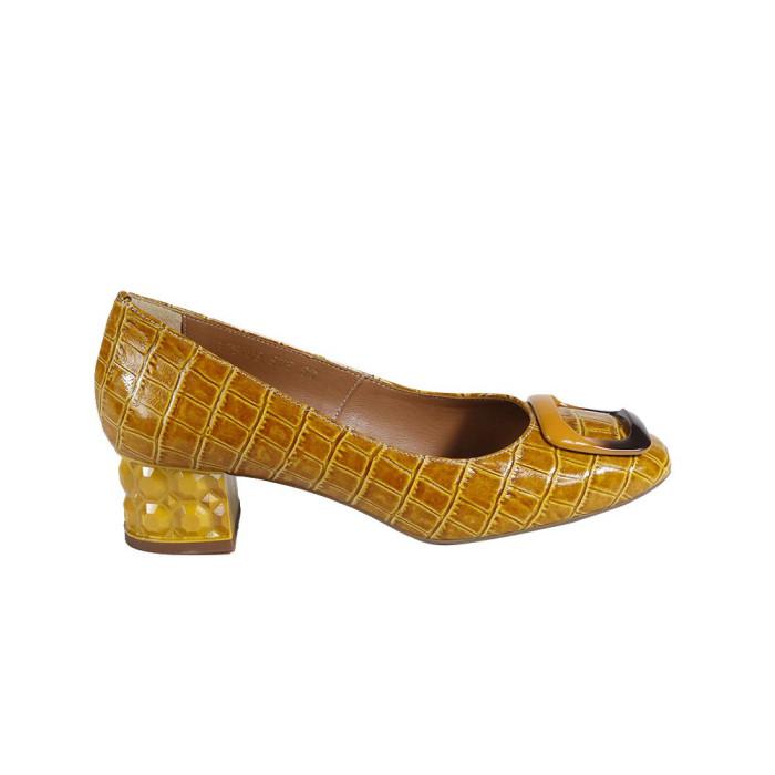 Pantofi dama Stefano 17540303 Mustar
