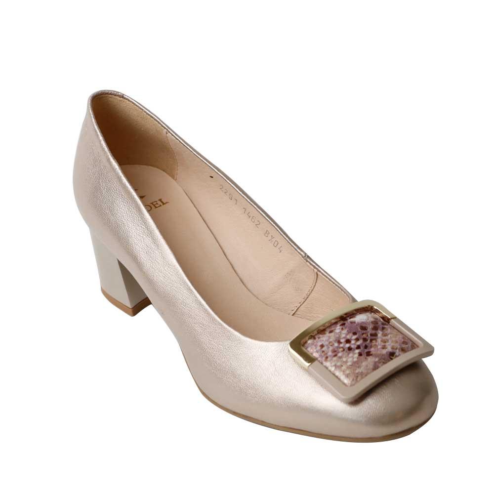 Pantofi dama Kordel 1462 Auriu