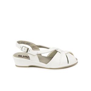 Sandale dama SUAVE Albe