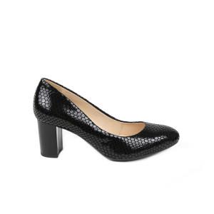 Pantofi dama STEIZER Negru cu Solzi