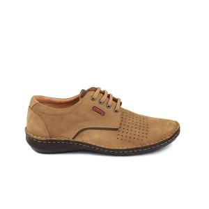 Pantofi barbati OTTER Camel Velur