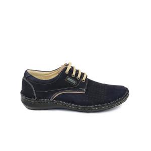 Pantofi barbati OTTER Negri Velur