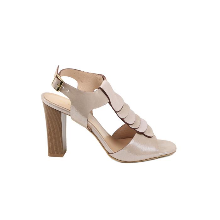 Sandale dama KORDEL Bej Sidefat