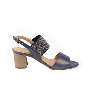 Sandale dama KORDEL Albastru Sidefat