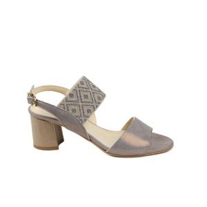 Sandale dama KORDEL Gri Sidefat
