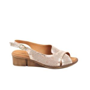 Sandale dama PASS Pudra