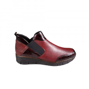 Ghete dama Rieker 53786-35 Bordo