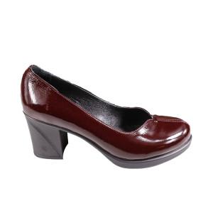 Pantofi dama Donna Style 087603 Bordo