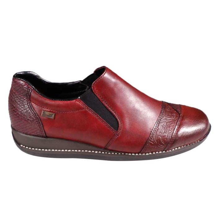 Pantofi dama Rieker 44251-35 Bordo