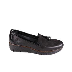 Pantofi dama Rieker 53771-00 Negru