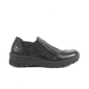 Pantofi dama Rieker L7178-00 Negru